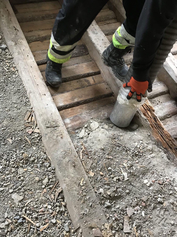 Fjerning av stubbloftsleire i Oslo og Akershus   Arnkværn Oslo